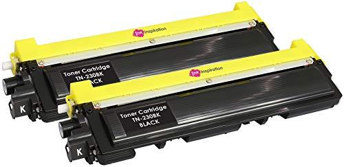 2 Schwarz Premium Toner kompatibel für Brother TN230 DCP-9010CN HL-3040CN HL-3045CN HL-3070CN HL-3070CW HL-3075CW MFC-9120CN MFC-9125CN MFC-9320CW MFC-9325CW | TN-230BK 2.200 Seiten - Drucker Mfc9320cw Brother