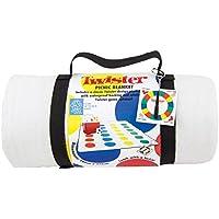 Twister Picknick Fleecedecke mit wasserdichter Schutztrger