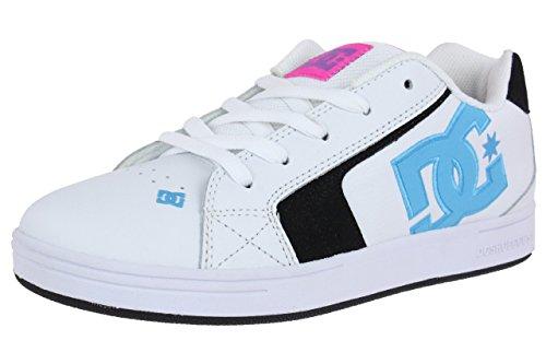 DC Shoes Youth Net Skater Sneaker 302362B weiß Kinder Damen Schuhe, Schuhgröße:EUR 37