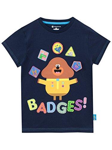 Hey Duggee Camiseta para Niño Club de Las Ardillas - Azul - 6 a 7 Años