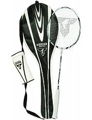 Talbot Torro Isoforce 211 Set  Set de Badminton 1 raquette, 3 volants Tech 350 blanc / noir / jaune