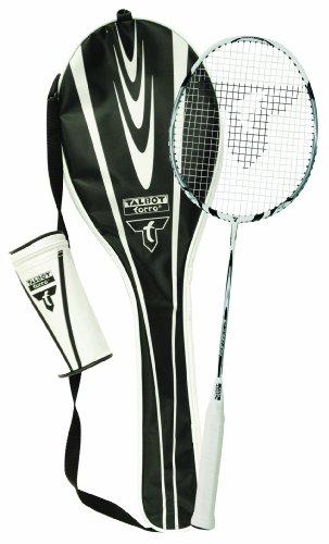 Badminton Schläger Komplettset Isoforce 211 Starterset Talbot Torro, 1 Graphitschläger, 3 Bälle, Tasche, alles für den sofortigen Start 449521