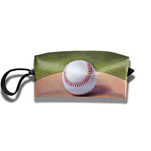 Fabric Cosmetic Bags Travel Makeup Case Baseball Sport Fans Lovers Unique Lazy Organizer Multi-Functional Storage Bags