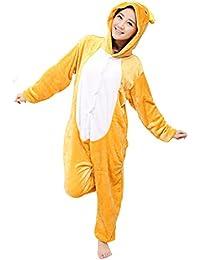 13d9e1405c2e7 Tonwhar Kigurumi Pyjama Adulte Anime Cosplay Halloween Costume Onesie
