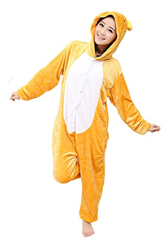 Tonwhar Kigurumi Pyjama Adulte Anime Cosplay Halloween Costume Onesie (S(Height:150cm-159cm),...