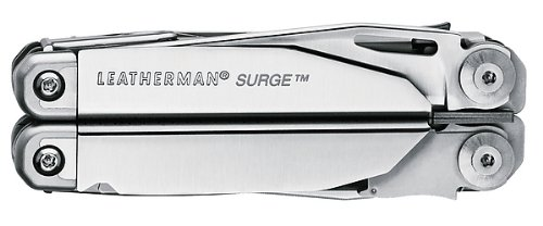 LEATHERMAN Multitool Surge Silber inklusive Holster