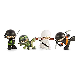 Fart Ninjas- 4 Pack Juguete, (Funrise International 70501)