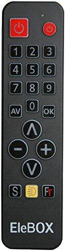 EleBOX Télécommande Universelle Simplifiée pour enfant, malvoyant ou...
