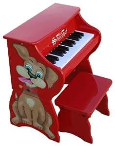 Schoenhut 25 Key Piano Pal with Bench Dog