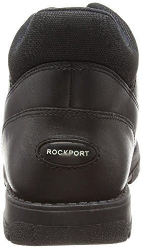Rockport Treeline Hike Marangue, Herren Kurzschaft Stiefel Schwarz (Black/Black)
