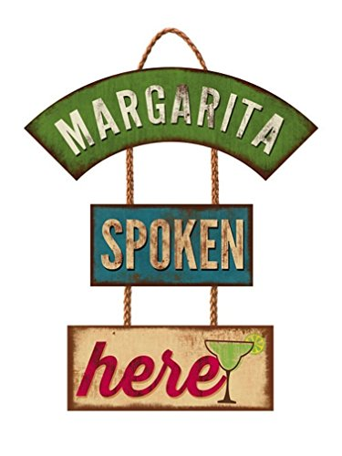 Highland Graphics Margarita Spoken Here Trio Schild #30-00060 -