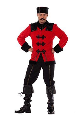 Panelize Kostüm Russe Kosake Größe 50-60 (50)