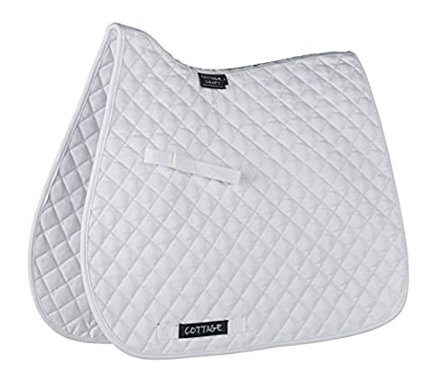 Cottage Craft Classic High Wither GP Saddle Cloth - White, Full