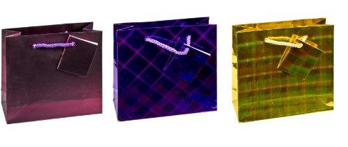 tsi-83043-bolsas-de-regalo-3-modelos-diferentes-12-unidades-diseno-holografico-cuadrado-tipo-cd