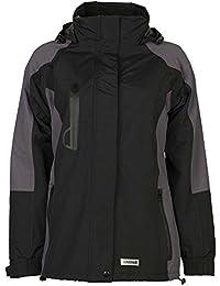 """Planam Damen Jacke """"Winter Shape"""" Größe S in schwarz/grau, 3636044"""
