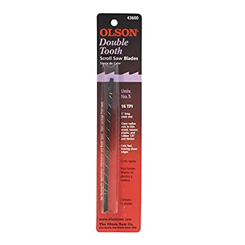 Olson SA4360 Double Tooth Scroll Blades