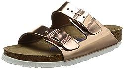 Birkenstock Arizona Sfb, Women's Sandals, Gold (Metallic Copper), 4 Uk (37 Eu)