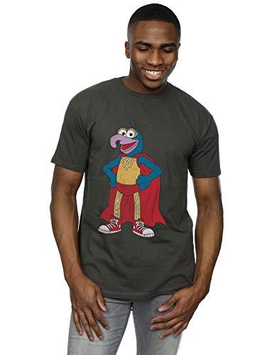 Muppets Herren Classic Gonzo T-Shirt XX-Large Licht Graphite -