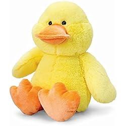 Keel Toys - Peluche de Pato Amarillo Amarillo Talla:20cm