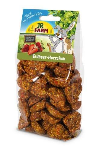 JR-Farm Nager Erdbeer-Herzchen 150g (Sechs-sterne-erdbeere)