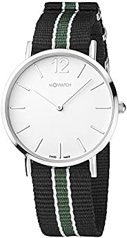 M-WATCH Swiss Made Smart Casual 40 Analog White Dial Men's Watch- WRG.3411