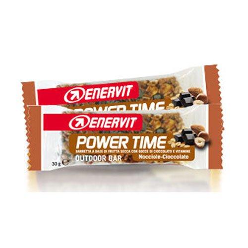Enervit Power Time Outdoor Barretta Nocciole e cioccolato 35g
