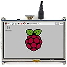 Waveshare 5 Inch HDMI LCD 800*480 High Resolution for Raspberry Pi 2 Model B / Raspberry Pi Model B / B / A / Raspberry Pi 3 Model B