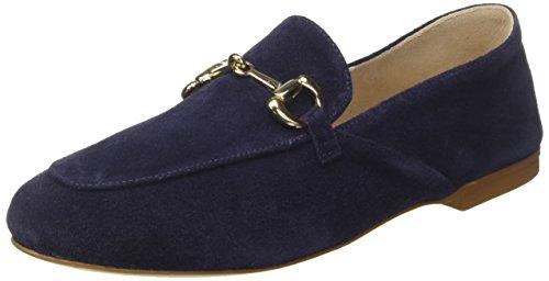 CANTARELLI Suede D, Mocassins (loafers) femme Bleu