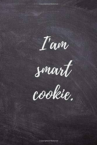 Cookie Quad (I'am smart cookie: Positive, Complement, Notebook, Journal, Diary, Quad Ruled, graph paper (120 Pages, 6 x 9))
