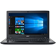 "Acer E5-575G-56X9 - Ordenador Portátil de 15.6"" HD (Intel Core i5-7200U, 8 GB RAM, 256 GB SSD, Nvidia GT 940MX 2 GB, Windows 10); Negro - Teclado QWERTY Español"