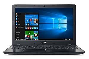 "Acer E5 Aspire Portatile, 15.6"" Full HD, Intel Core i7-6500U, 8 GB RAM, 1 TB HDD, nVidia GeForce 940MX, Nero"