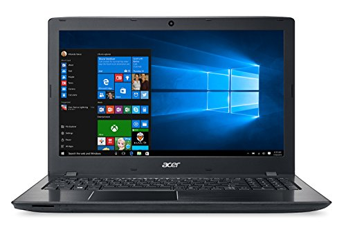 "Acer Aspire E15 - Portátil de 15.6"" HD (Intel Core i7-6500U, 8 GB RAM, 1 TB HDD, Nvidia GTX 950M de 2 GB, Windows 10); Negro - Teclado QWERTY Español"