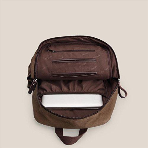 DELLT-Herrenmode Rucksack Umhängetasche Laptop-Tasche Tasche lässig Tasche Schulranzen Schüler schwarz