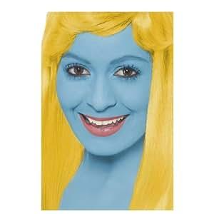 Maquillage Bleu de Schtroumpf - Taille Unique
