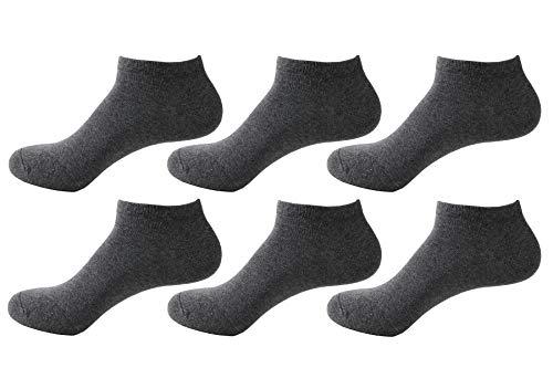 Likarulla Lot de 6 ou 10 paires Chaussette Hommes et Femmes chaussettes sport courtes Coton socquettes
