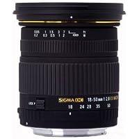 Sigma 18-50mm 2,8 EX DC Macro Objektiv (72mm Filtergewinde) für Sigma