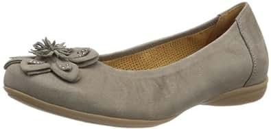 Gabor Shoes Gabor Comfort 82.622.31 Damen Ballerinas, Grau (fumo), EU 44 (UK 9.5) (US 12)