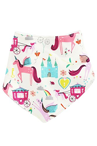 next-Bb-Fille-Lot-De-3-Bavoirs-De-Dentition--Motif-Licorne