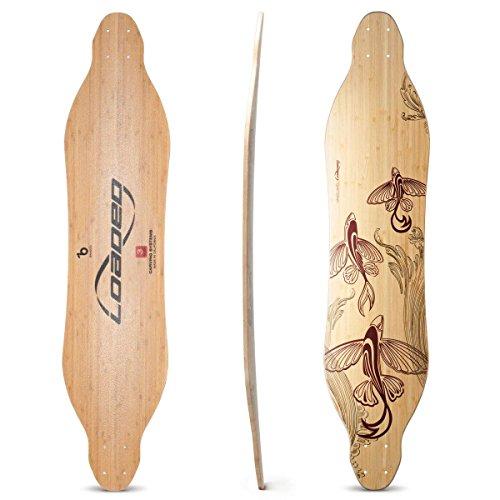 rd Bamboo Longboard Skateboard Deck (Flex 2) ()