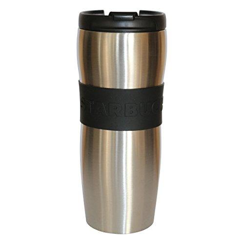 Starbucks Vaso de Taza de café Acero Inoxidable de Lucy de Plata 12oz / 355 ML