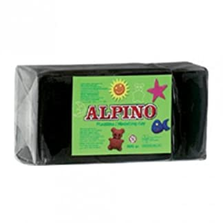 Alpino DP000079 – Plastilina, color negro