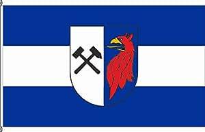 Königsbanner Tischfähnchen Torgelow - Tischflaggenständer aus Holz