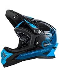 O'Neal Backflip Rl2 Bungarra Casco de Bicicleta, Negro / Azul, M (57-58 cm)