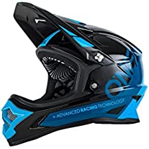 O'Neal Backflip Rl2 Bungarra Casco de Bicicleta, Negro / Azul, L (59-60 cm)
