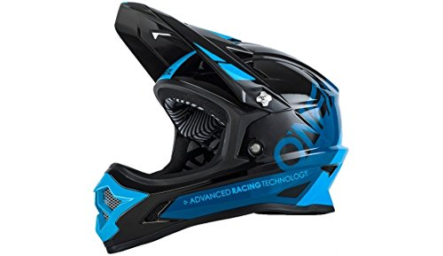 O 'Neal Backflip RL2bungarra Fahrrad Helm, schwarz/blau, S (55–56cm)