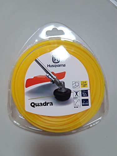 Husqvarna Trimmerfaden Quadra 2,7 mm x 55 m, gelb - 7391736387606 - Wessa Gruppe