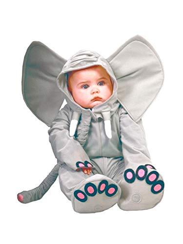 DISBACANAL Disfraz Elefante Dumbo bebé - Único, 12-24 Meses