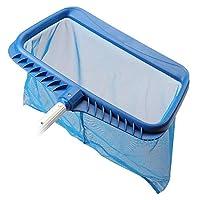 Mainstayae حوض سباحة مصفاة صافي إزالة ورقة مجرفة مع حقيبة عميقة حمام السباحة تنظيف أداة مع إطارات شديدة التحمل شبكة شبكة عميقة