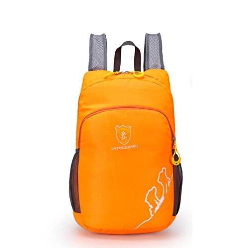 SZH&BEIB Faltbare Rucksack Wasserdichte Nylon Ultra Light für Outdoor Reit Tasche Klettern Wandern Wasser-Beutel F