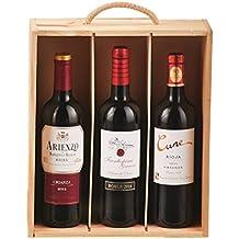 Regalo Caja de Madera de Vinos